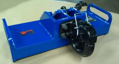 20,000 pound rhino receiver blue