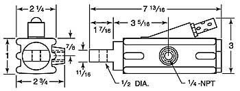 8181 vibrator dimensions