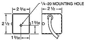 9100 DynaMite dimensions
