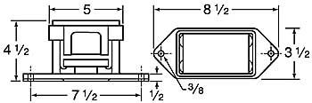 9300 vibrator dimensions