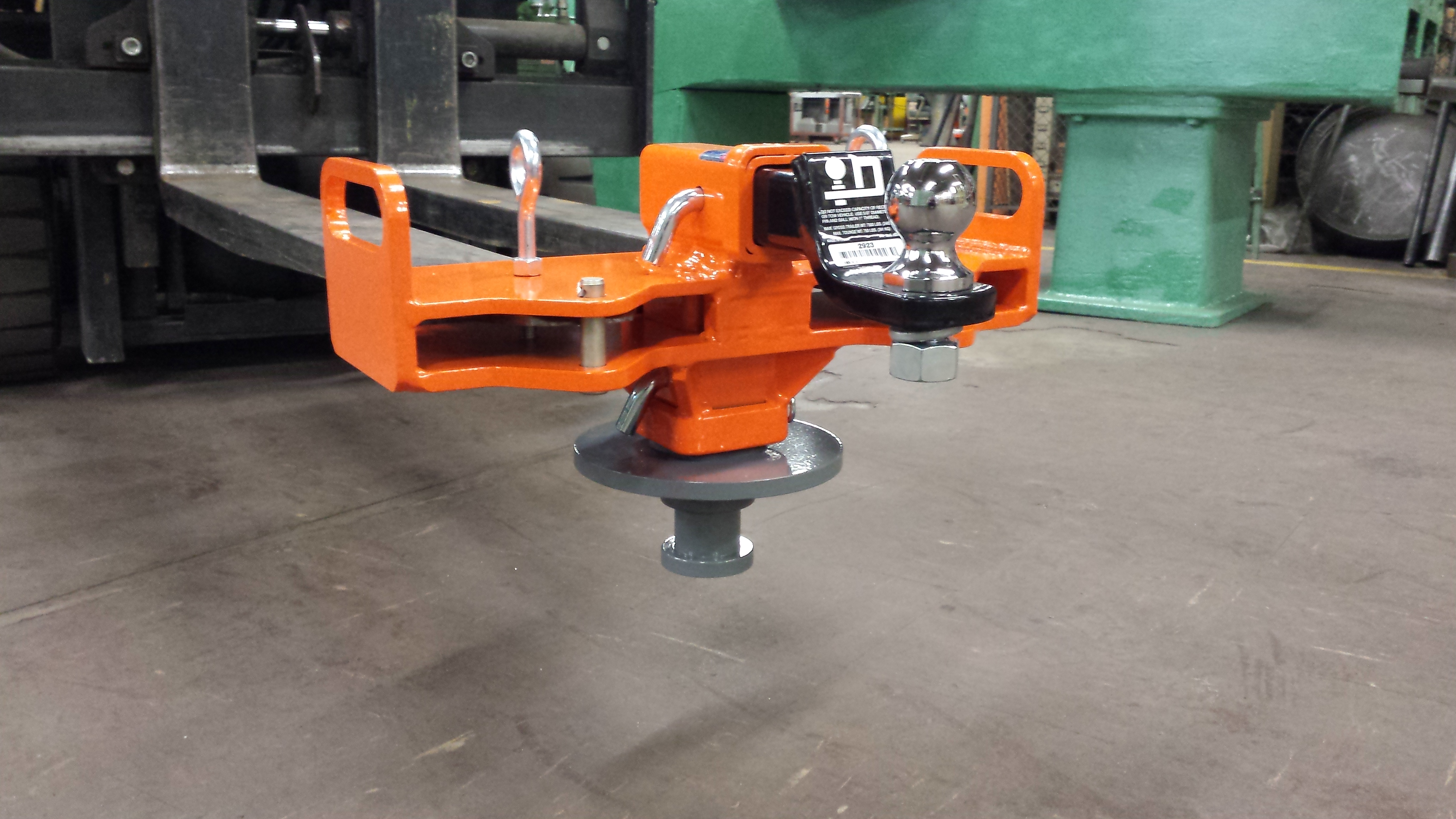 Custom Fork Rhino Forklift Attachments Automation Devices