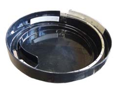 Abcite Lined Vibratory Feeder Bowl