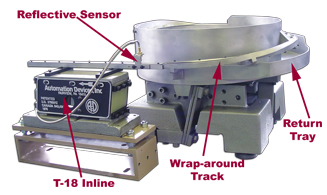 Vibratory Bowl Feeder components