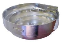 Custom tooled electropolished vibratory feeder bowl