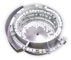 Custom tooled vibratory feeder bowl pharmaceutical grade