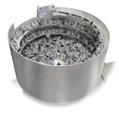 Custom tooled straightwall vibratory feeder bowl