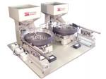 Dual bowl vibratory feeding system