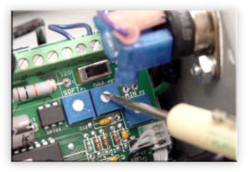 Vibratory Feeder Controller Maximum