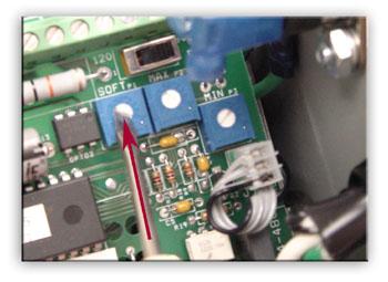 Vibratory Feeder Controller Soft Start Feature