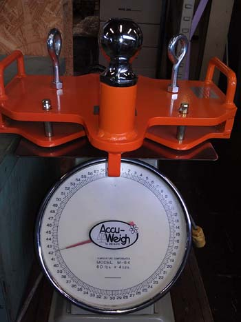 Fork rhino size and weight