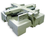 Vibratory feeder bowl base unit
