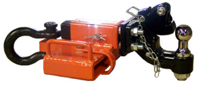 modified shackled rhino receiver