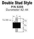 Double stud rubber feet vibratory feeder