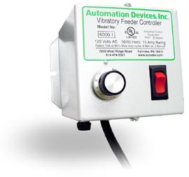 Vibratory Feeder Amplitude Controller