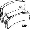 Bad vibratory feeder bowl diameter